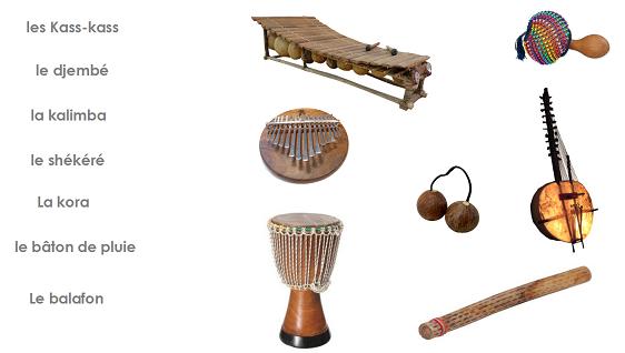 Les instruments et la musique africaine