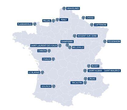 centrales Francaises