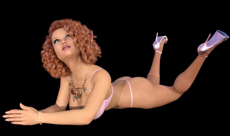 Tube de femme sexy (image-poser)