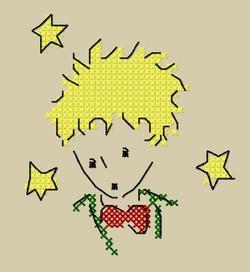 Portrait du petit prince.