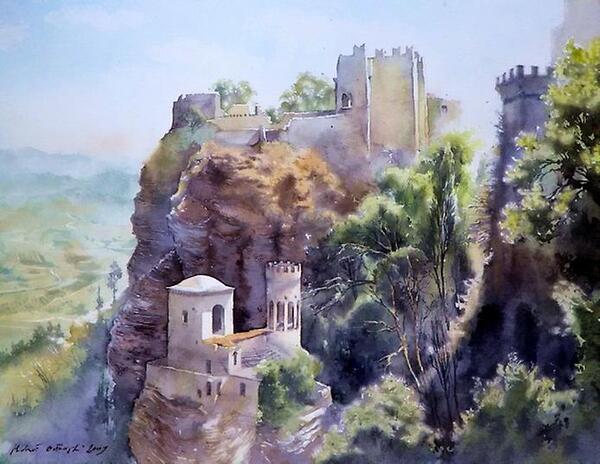 Peinture de : Michal Orlowski