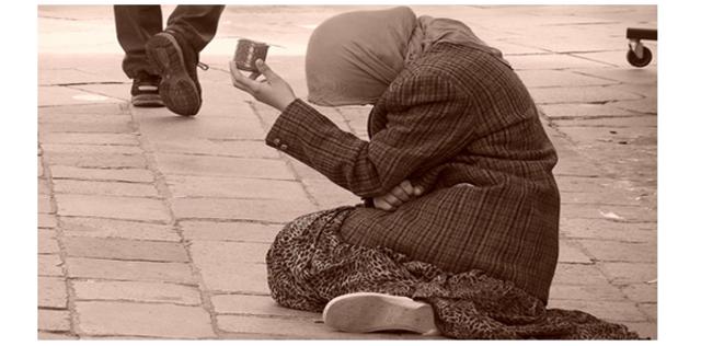 Misère sdf mendiant