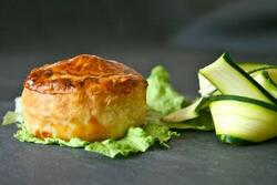 Chicken Pie au Cheddar ( empreinte grands rond Guy Demarle )