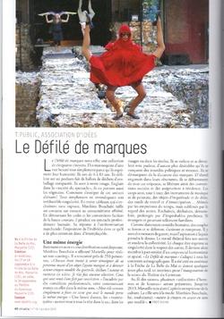 DEFILE DE MARQUES DHOMME ET DE FEMMES