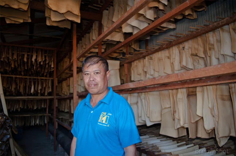 Entreprise de transformation du latex à Luang Namtha