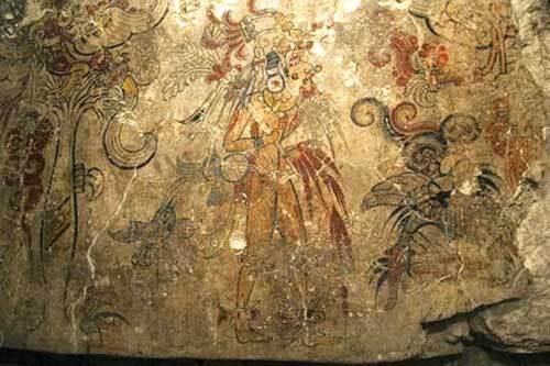 Peinture maya