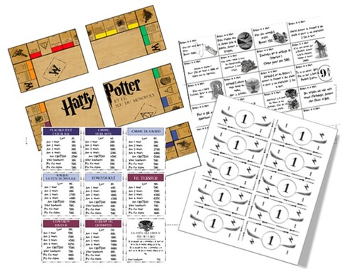 Harry Potter et le jeu du Monopoly