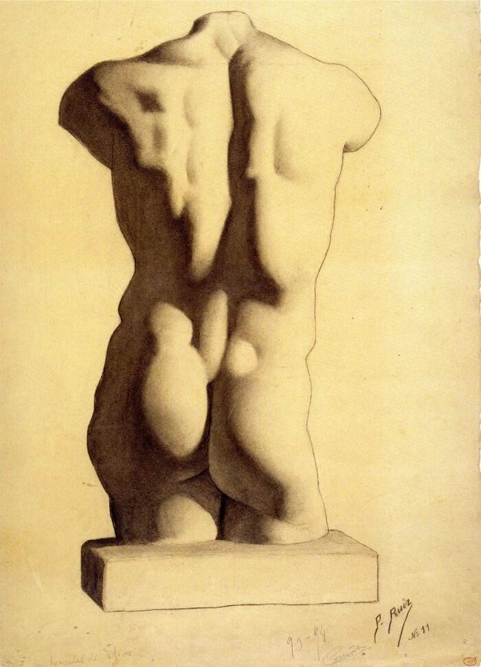 Picasso   /3/  Une formation espagnole classique