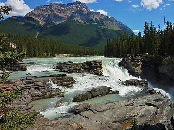 Jour 19 route des Glaciers chutes Athabasca 1