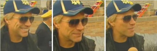 JON BON JOVI AT NOTRE DAME FOOTBALL - OCT 20/2012