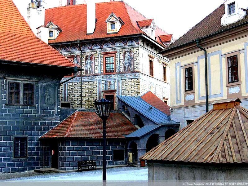 La ville médiévale de CESKY KRUMLOV