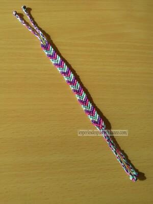 Bracelet Brésilien Modèle Chevron (3)