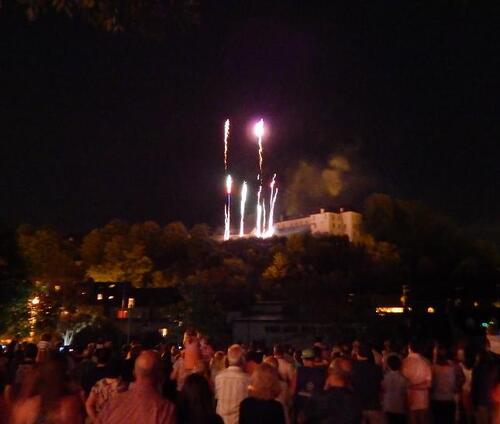 Le 14 juillet à Oloron