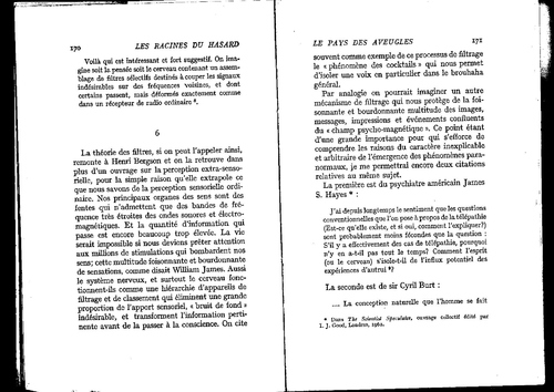 Koestler pages 172 et 173  quatre interactions univers incomplet?