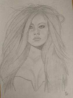 Portrait Avril lavigne