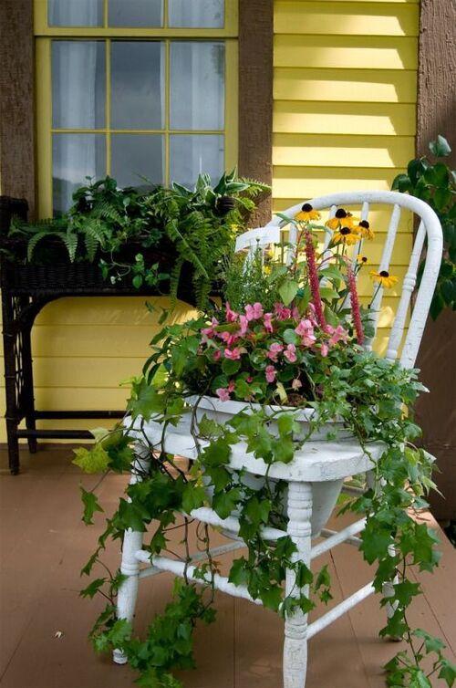 décoration chaises
