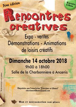 Rencontres créatives le 14/10/18 à Ancenis