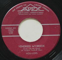 Hou Lops : Vendredi m'obsède (1967)