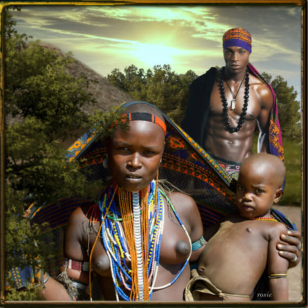 famille africaines