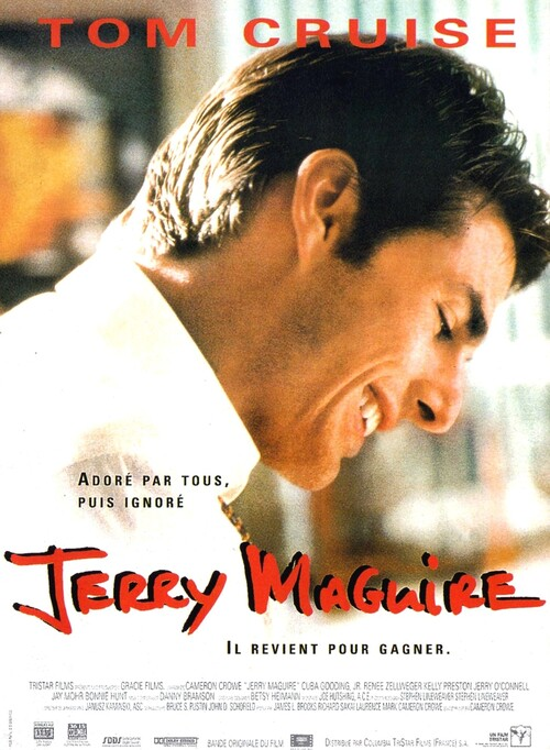 JERRY MAGUIRE - BOX OFFICE TOM CRUISE 1997