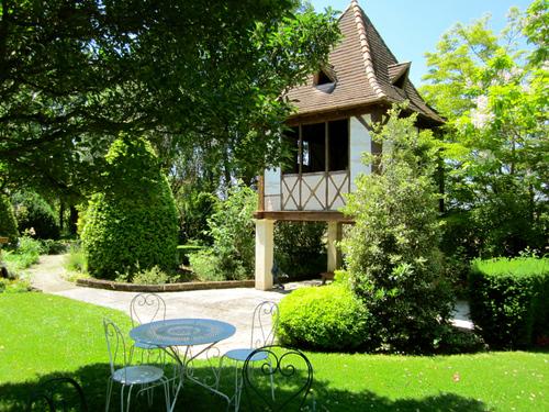 Marmande  (Lot-et-Garonne) le jardin Beauchamp