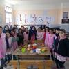 Groupe des filles de la 5°AP / B - Avril 2015