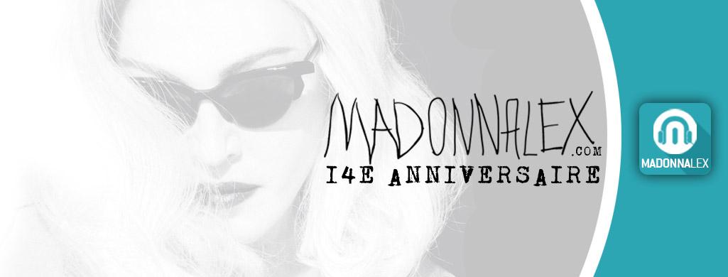 Madonnalex a 14 ans - Le concours anniversaire 2019