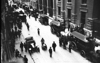 Si nous vivions en 1913, nous serions peut-être en grève