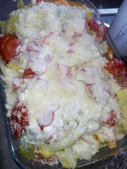 Lasagnes au chou frisé