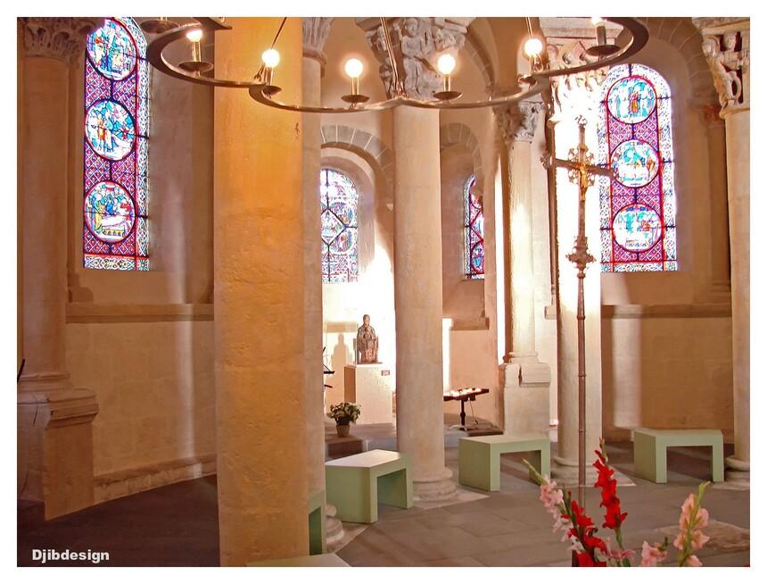 Eglise de st Nectaire ,Auvergne,