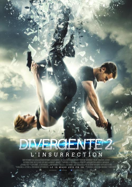 Deux nouvelles bande-annonces pour le film Divergente 2 ! Excellentes ! Le 18 Mars 2015 ;)
