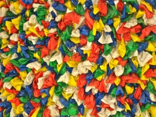 Pascale Marthine Tayou Plastic bags Saint-Lazare 1
