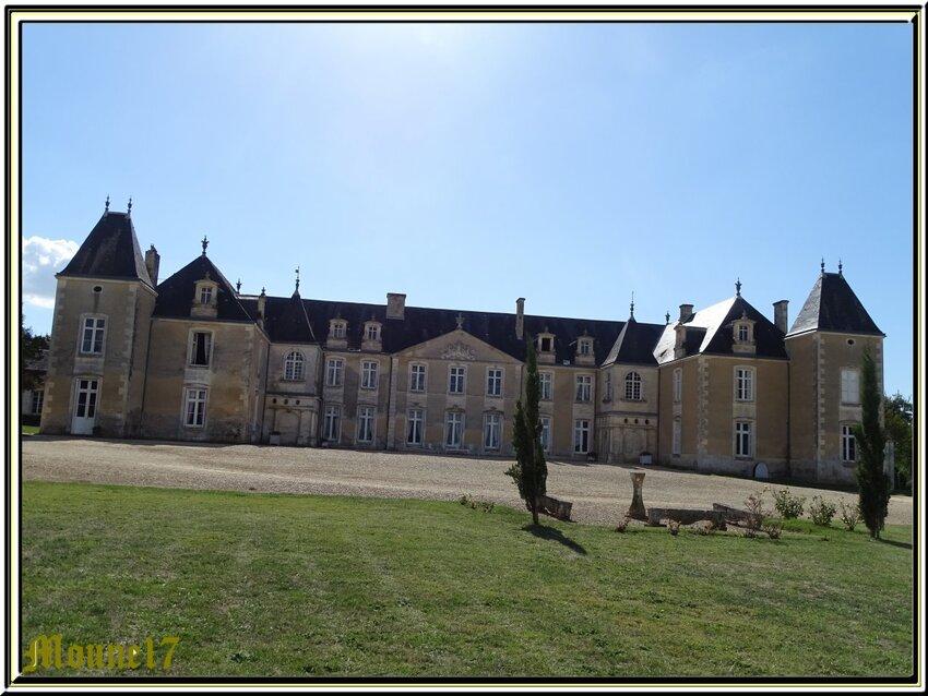 Le château de Panloy  (charente maritime)