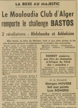 1950-1951 Challenge Bastos