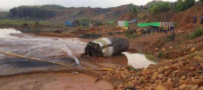 Un mystérieux cylindre tombé du ciel intrigue la Birmanie