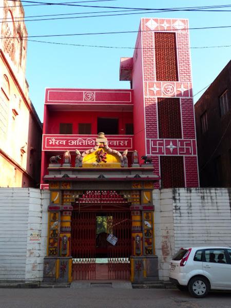 quelques temples au bord du Gange