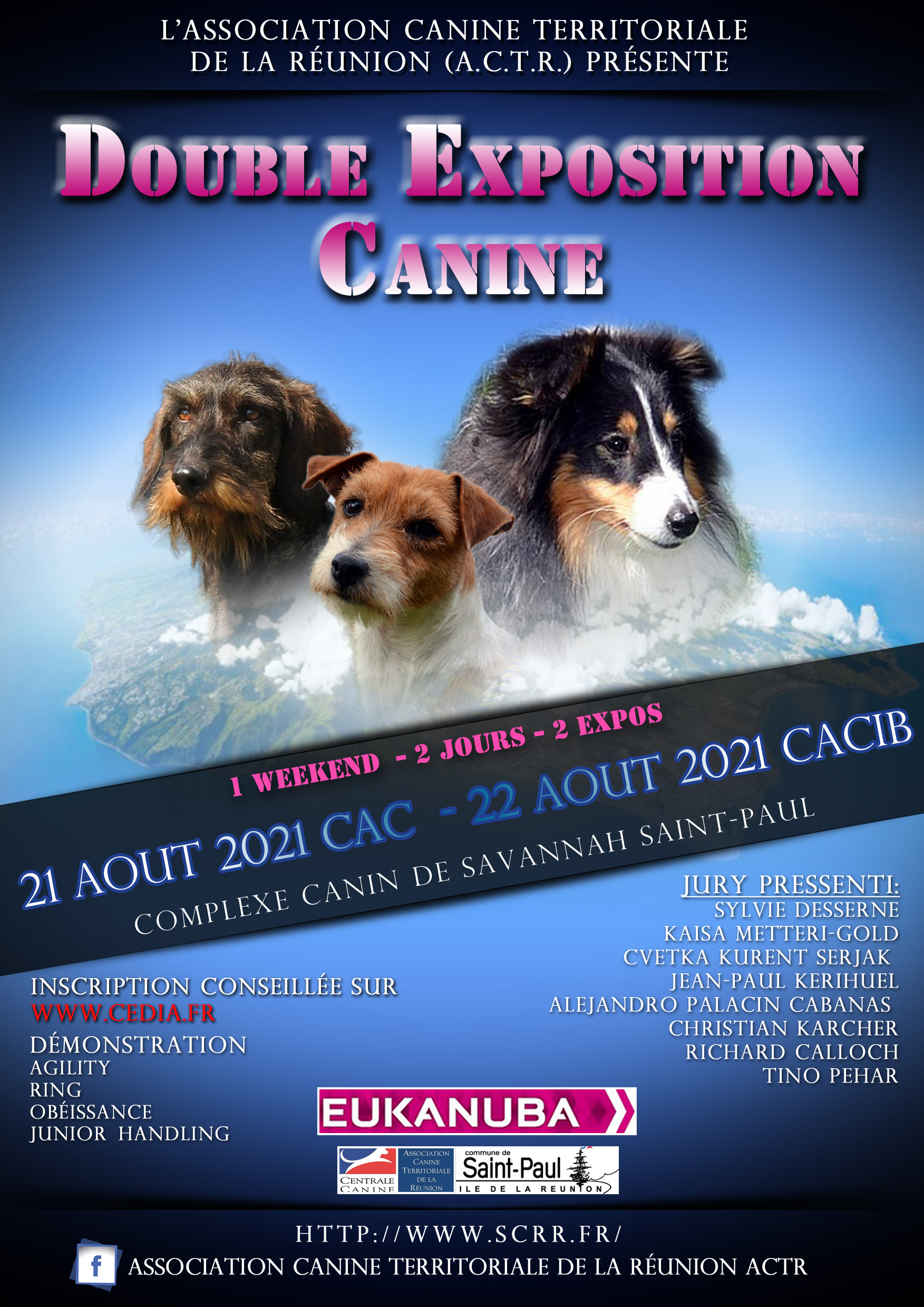 Calendrier Confirmation Canine 2022 ACTR