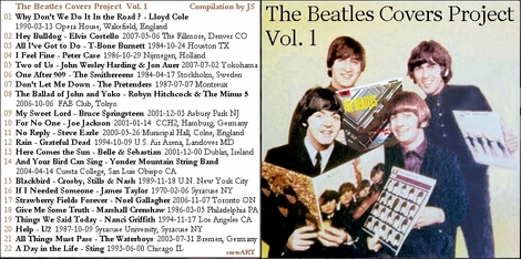 Cover me # 10: The Beatles Covers Project Volume 1