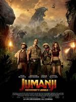 Jumanji Bienvenue dans la jungle affiche