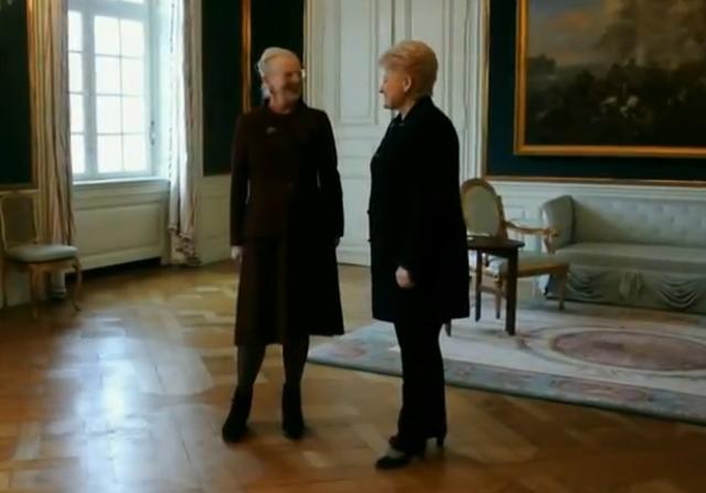 Margrethe et la présidente