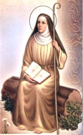 Sainte Monique. Mère de saint Augustin d'Hippone († 387)