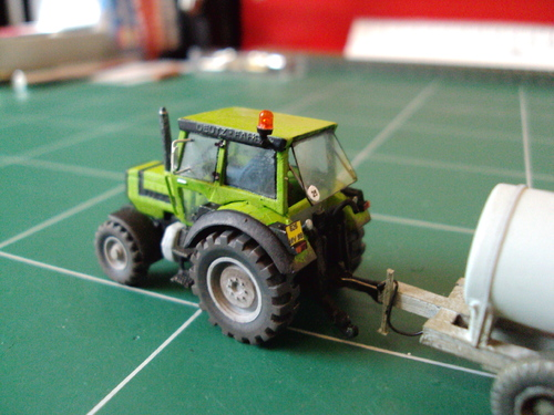 Tracteur Deutz Fahr DX 4.70 de Wiking