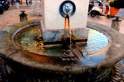 Toulouse : une fontaine et son bassin