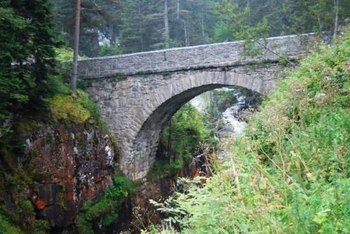 Pont d' Espagne et ses cascades