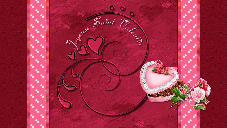 Fond cran saint valentin mcreations - Image st valentin gratuite ...