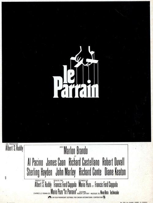 LE PARRAIN - MARLON BRANDO BOX OFFICE 1972