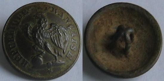Bouton garde nationale 1830