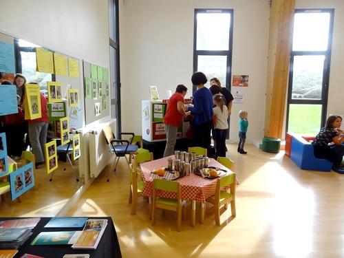 Un  Festival Petite enfance s'est tenu au CSCL...