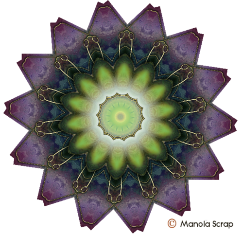 Mandalas pour  fond de création 6
