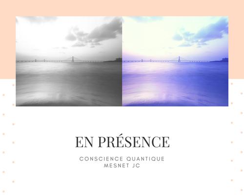 En MA présence, la Matrice de la conscience dimensionnelle disparaît